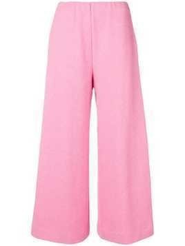 Harris Wharf London cropped trousers - Pink