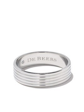 De Beers Platinum Fused Lines band