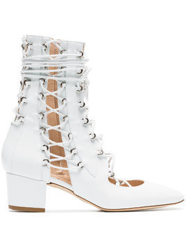 Liudmila White Drury Lane 50 Leather Boots
