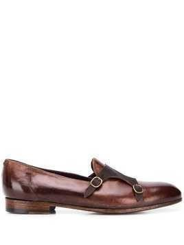 Lidfort classic Jago monk shoes - Brown