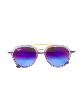Ray Ban Junior aviator sunglasses - Pink & Purple