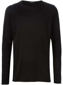 Bassike long sleeve T-shirt - Black
