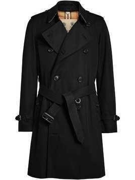 Burberry The Chelsea Heritage Trench Coat - Black