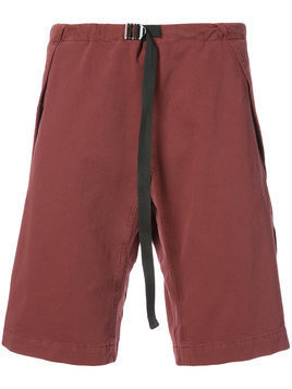 Stella McCartney drawstring waist shorts - Red