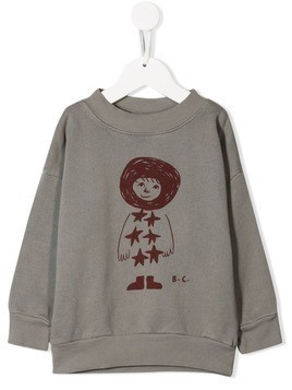 Bobo Choses star child sweatshirt - Grey