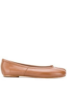 Maison Margiela Tabi ballerina shoes - Brown