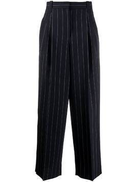 Loewe wide striped trousers - Blue