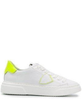 Philippe Model Paris Temple two-one trainers - White