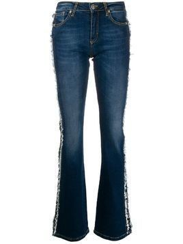 John Richmond Brigitte flared denim jeans - Blue