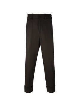 Neil Barrett cropped trousers - Brown