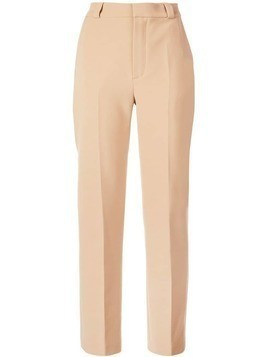 Carmen March high waisted trousers - Brown