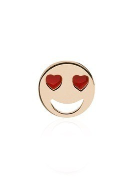 Alison Lou 14kt yellow gold Love Struck stud earring