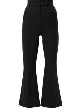 Dalood cropped flared trousers - Black