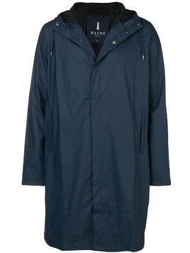 Rains waterproof hooded coat - Blue