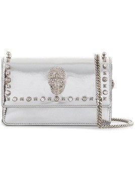 Philipp Plein Studs shoulder bag - Grey