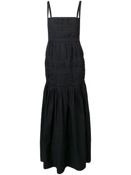 Brock Collection smocked maxi dress - Black