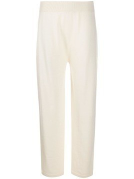 Agnona knitted trousers - White