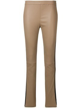 Iris Von Arnim side stripe trousers - Brown