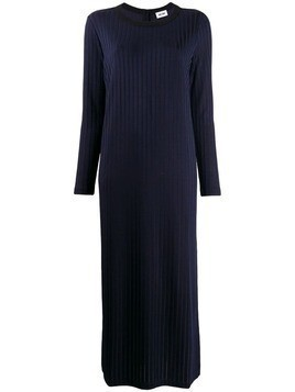 Each X Other retro rib sweater dress - Blue