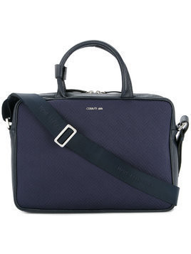 Cerruti 1881 shoulder strap laptop bag - Blue