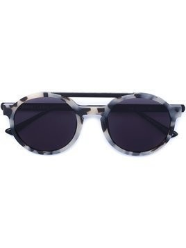 Thierry Lasry Dr. Woo x Thierry Lasry round frame sunglasses - Black