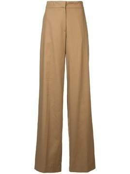 Oscar de la Renta straight-leg trousers - Brown
