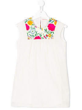 Anne Kurris embroidered tunic dress - White