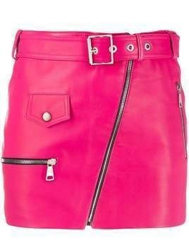 Manokhi fitted mini skirt - PINK