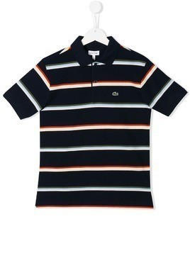 Lacoste Kids short sleeve polo shirt - Blue