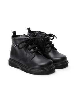 Il Gufo lace-up ankle boots - Black