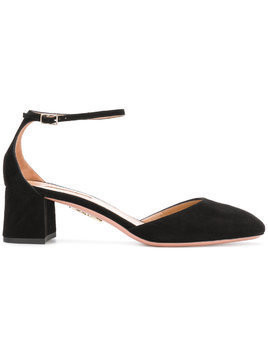 Aquazzura Capucine leather pump - Black