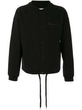 Makavelic basketball sweat bomber jacket - Black