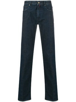 Incotex straight leg jeans - Blue