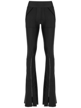 Andrea Bogosian flared trousers - Black