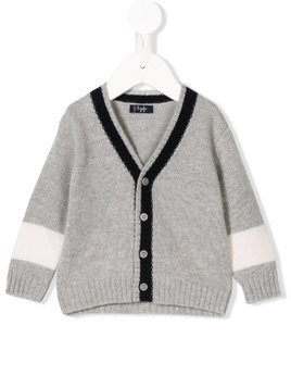 Il Gufo v-neck cardigan - Grey