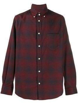Bellerose Mire checked shirt - Red