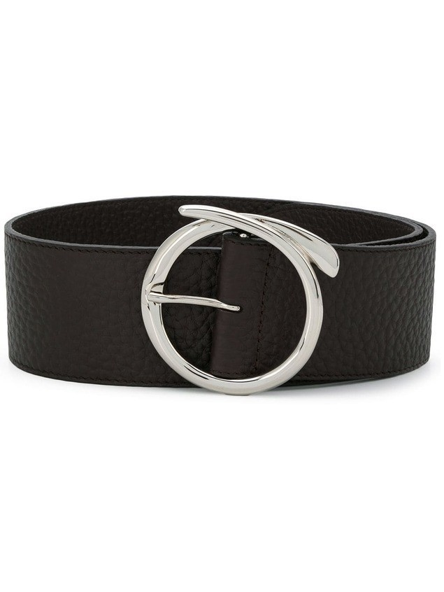 Orciani bull buckle belt - Brown