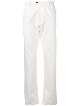 Fortela straight leg trousers - White