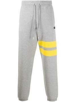 Gcds contrast band track pants - Grey
