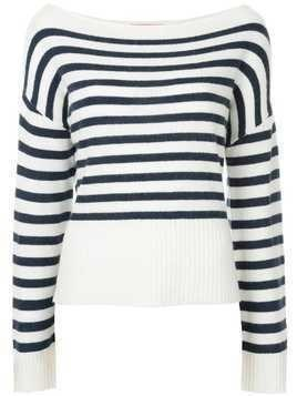 Manning Cartell striped jumper - White