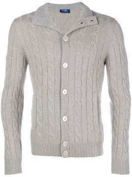 Barba button up cardigan - Nude & Neutrals