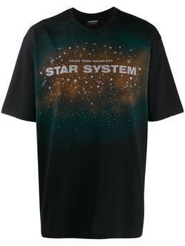 Mauna Kea printed 'Star System' T-shirt - Black