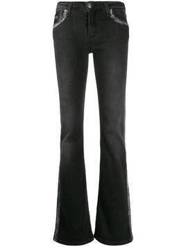 John Richmond Brigitte flared denim jeans - Black