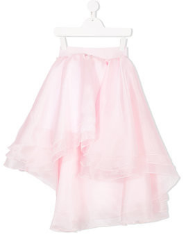 Love Made Love asymmetric layered skirt - Pink