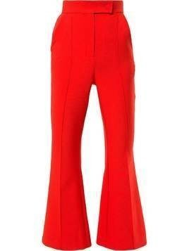 Dalood cropped flared trousers - Orange
