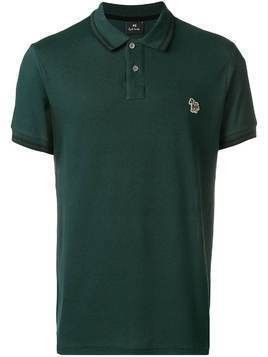 Ps By Paul Smith zebra patch polo shirt - Green