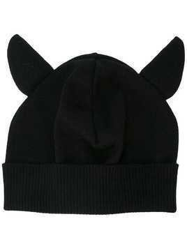 Moschino animal ears beanie - Black