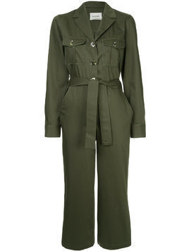 Monographie military jumpsuit - Green