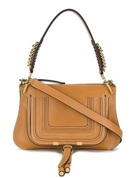 Chloé Marcie large shoulder bag - Brown