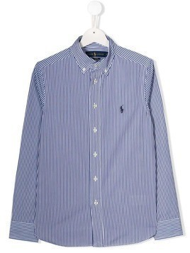 Polo Ralph Lauren TEEN cotton logo shirt - Blue